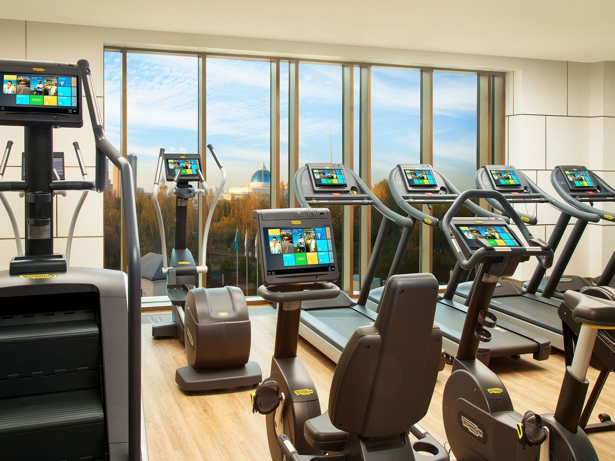 Fitness center St. Regis Astana